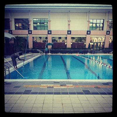 Saturday is pool cleaning day at JPMCFitness Brunei InstaBruDroid Andrography
