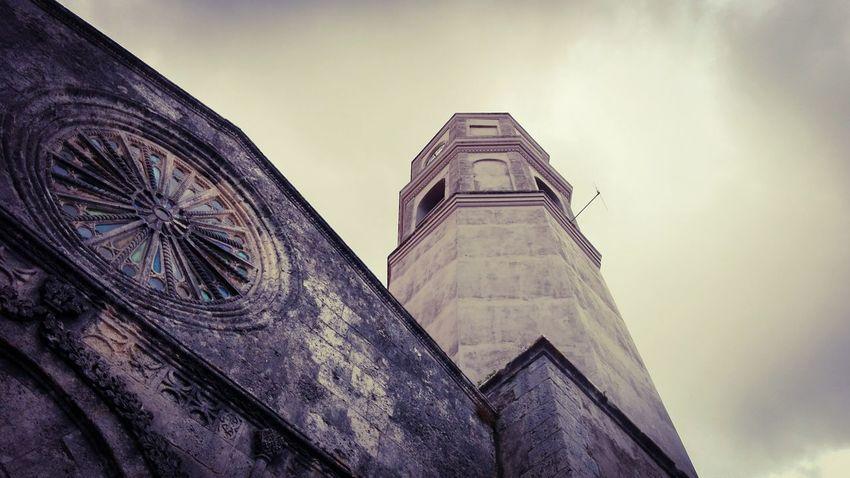 Prospettiva Prospective Campanile Cielo Chiesa Cielo E Nuvole Crepusculo Outdoors