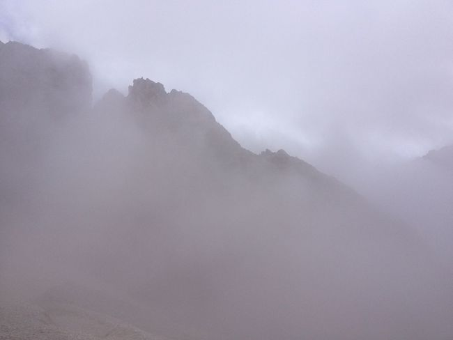 Schatten Nebel Alpen