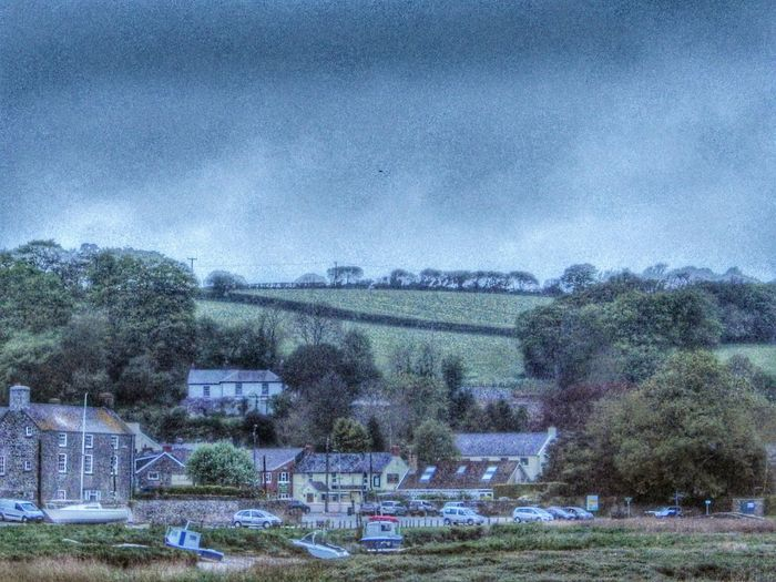 Wales Landscape Photography HDR Taking Photos Walking Around Storm Clouds Hills Trees