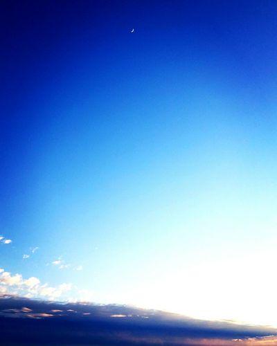 Sunset Cloud - Sky Colors Beauty In Nature La Luna