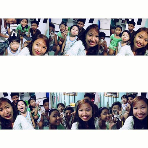 sibs 👩 👨 👨 👧 👶 🐱 * insert pupples and kikay 🐶 🐱 * Quality Time
