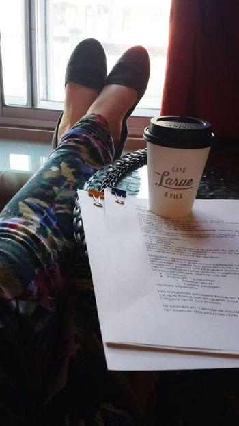 Studying CaféLarue