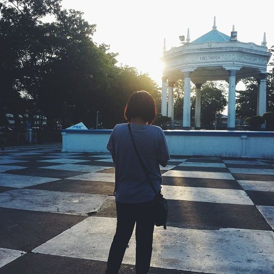 146/365 Exploring the city with @geewillgoplaces. thanks for today 365 Caughtgramming Sunset Plaza bacolod augustrush