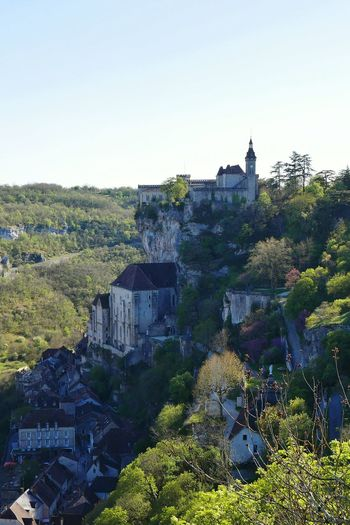 Rocamadour - Outdoors Rural Scene Architecture Tree Architecture_collection Old Architecture Architectureporn Architecturelovers Old Town Tourism PlusbeauvillagedeFrance Village History City Clear Sky Travel Destinations Architecture Castle