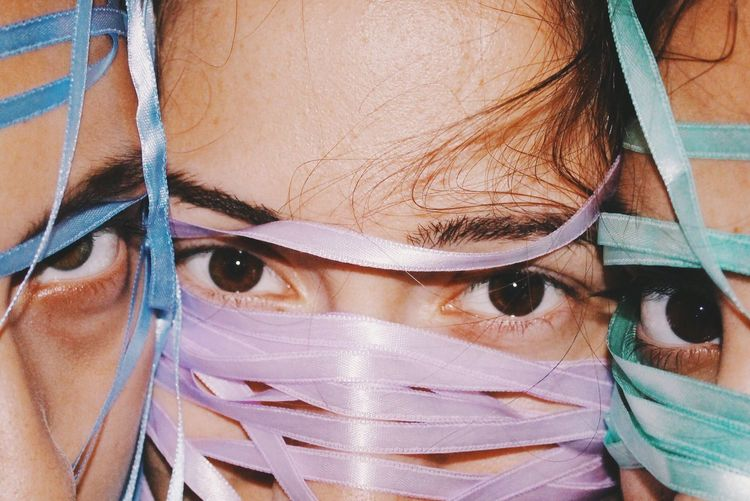 Up-close and Personal. Back in Weirdville. Portrait Human Eye Girls Fresh On Market 2017 The Portraitist - 2018 EyeEm Awards The Creative - 2018 EyeEm Awards