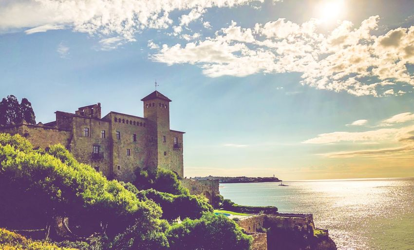 Tamarit Beach Castle Sky Water Built Structure Architecture Building Exterior Cloud - Sky Sea Building Nature No People Day Beauty In Nature Travel Destinations