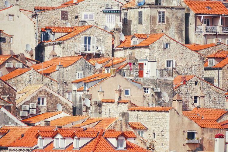 Building Exterior Architecture Built Structure Roof House Residential Building No People Day Outdoors dubrovnik