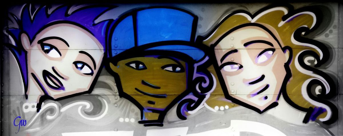 Graffiti Close Up, Downtown Los Angeles