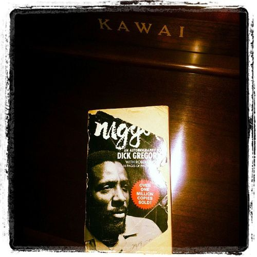 Great book I read a while back. I have a deep love for introspective literature, music and all communication pretty much. Nigger  DickGregory