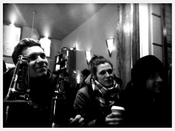 preclubbing at Esra Falafel Preclubbing