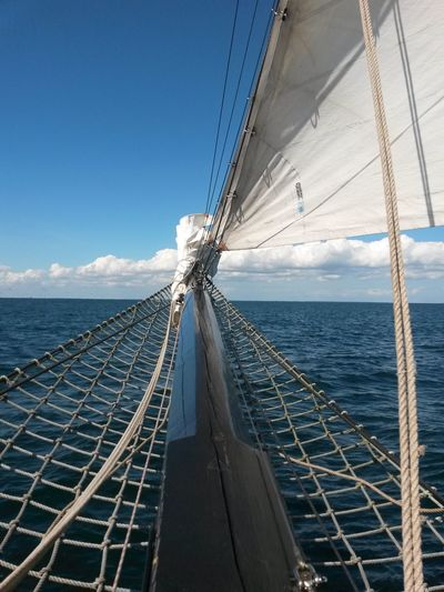 Zweimaster Segelschiff Richtung Dänemark Hi! Ostsee Taking Photos Hello EyeEm Sommer Segeln Urlaub & Reisen