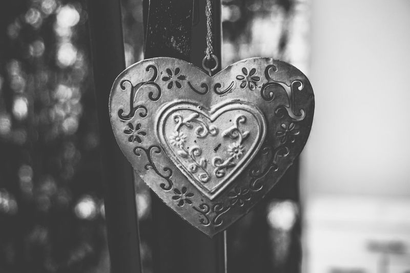 EyeEm Best Shots Heart Shape Love Positive Emotion Close-up Focus On Foreground Design Metal Emotion No People Hanging Shape Pattern Decoration Day Pendant Art And Craft Indoors  Craft Single Object