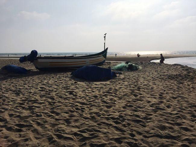 Goa shanti Beach Sand Sea Nature Sky India Mandrem Boat The Great Outdoors - 2017 EyeEm Awards