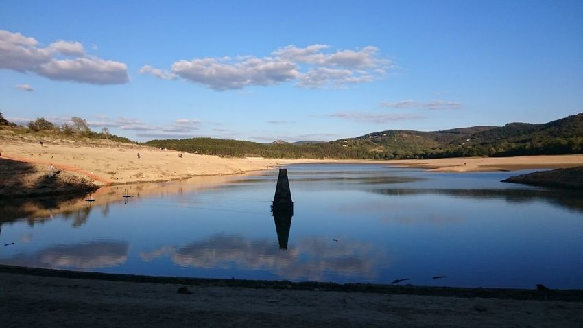 Water Reflection Sky Tranquility Tranquil Scene Beauty In Nature Nature Calm Cloud Scenics Revel Occitanie