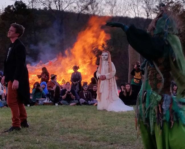 1000faces Bonfire Costume Fire JohnHernrys Leisure Activity Theater
