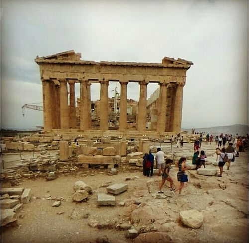 Acropolis, Athens Architecture Tourism History Travel Ancient Sky People Outdoors First Eyeem Photo Clear Sky Greece Photos Greece Style Skyview Blue Greece_ilove_you Greece Only Love GREECE ♥♥ Greecesummer Greece Ancient History Architecture Acropolis