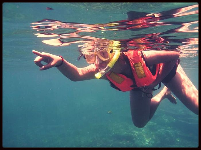 Treasure hunt in the sea Taking Photos ...
