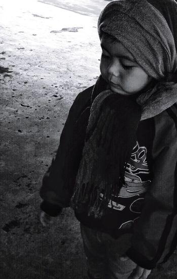 One Boy Child Close-up Innocence Philippines