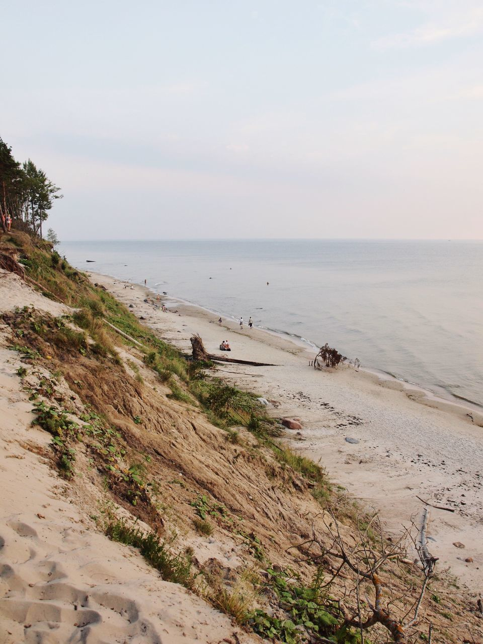 sea, beach, shore, sand, water, nature, scenics, horizon over water, tranquility, beauty in nature, tranquil scene, sky, outdoors, no people, day