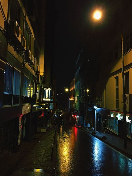 Illuminated Night Architecture Built Structure Building Exterior Street Light The Way Forward