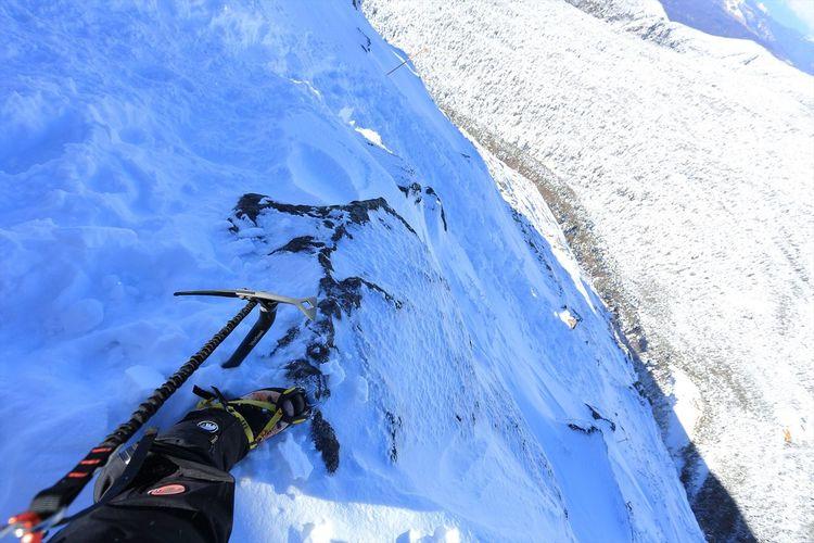 こんな場所からなんですが・・・ご無沙汰です(;´Д`A Adventure Cloud - Sky Enjoying Life Extreme Sports Japan Landscape Mountain Nature Outdoors Sky Snow Winter Winter Sport 日本 自然 風景