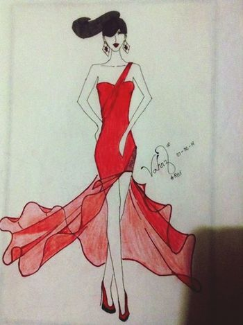 Drawing Art Fashion And Style