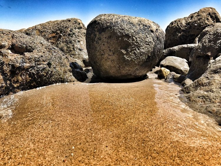 Beauty In Nature Nature Outdoors Sand No People Sky Beach Ocean Rock Portugal