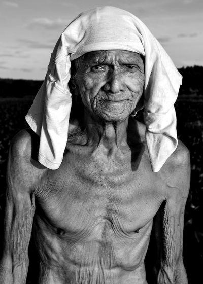 Blackandwhite Old Man Portrait Old Eyeem Philippines The Week on EyeEm Portrait Senior Adult This Is Aging