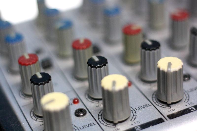 knop of mini mixer Adjust Audio Close-up Defocused Depth Of Field Fader Knop Macro Mini Mixer Mixer Out Focus Sound Sound Engineer