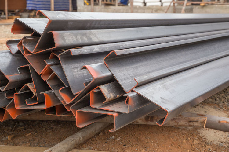 Steel Channel Iron Metal Industry Closeup Heavy Heap Joist Technology Girder Warehouse Angle Manufacture Bunch Channels Industrial Bar Beam Pile Rust Materials Corrosion Fusion Rough Reinforcement Structure Construction Shape Factory Plant Material Metallic Metallurgist C