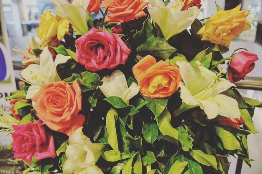 Flowers Boquet Freshness Flower Head Bunch Of Flowers Close-up Petal Colorful Flower Rose - Flower