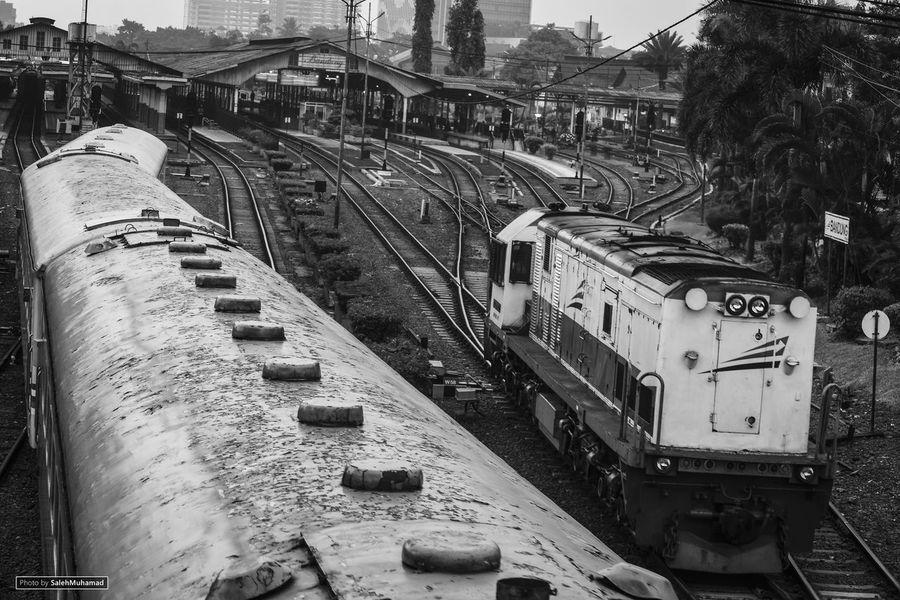 Iamindonesia Kereta Api Indonesia Photography Streetphotography Nikonphotography Blackandwhite Photography