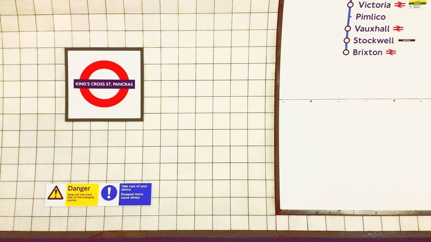 LONDON❤ London London Underground Urban United Kingdom King's Cross