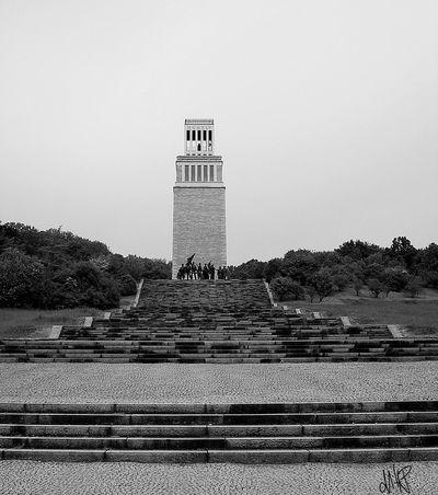 """""""Turn der Freiheit"""" Blackandwhite Photography EyeEm Gallery Historical Building Historical Monuments Erinnerungsort Buchenwald Memorial"""