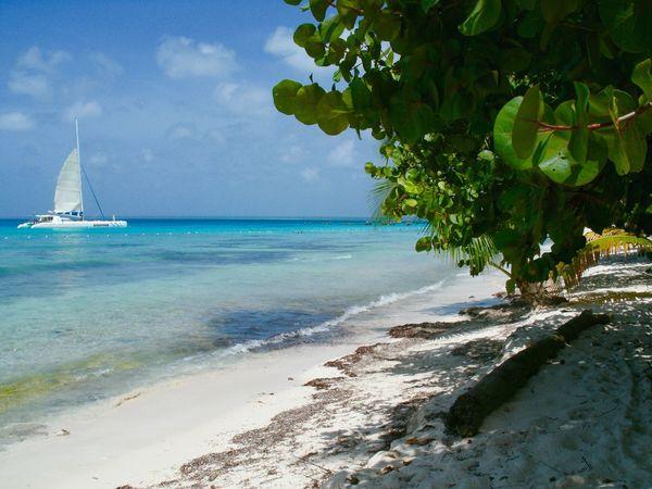 I took this Picture after a storm. Bounty Island Sun Sea Sand Catamaran ,Dominican Republicc ,Isla Saonaa