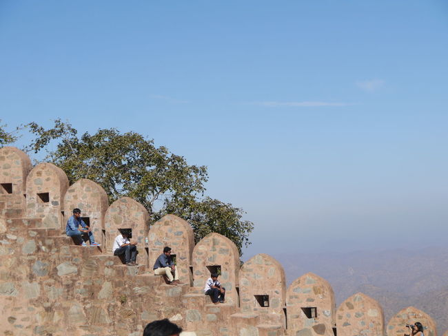 Aravalli Mountain Range Day Great Wall Of India Kumbhalgarh Kumbhalgarh Fort Mountain Range Outdoors Rajasthan Trees EyeEmNewHere Adapted To The City Minimalism Minimalist Architecture