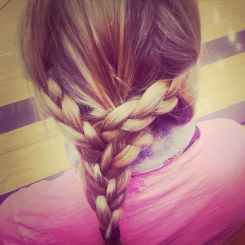 Taz Did My Hair At The Game