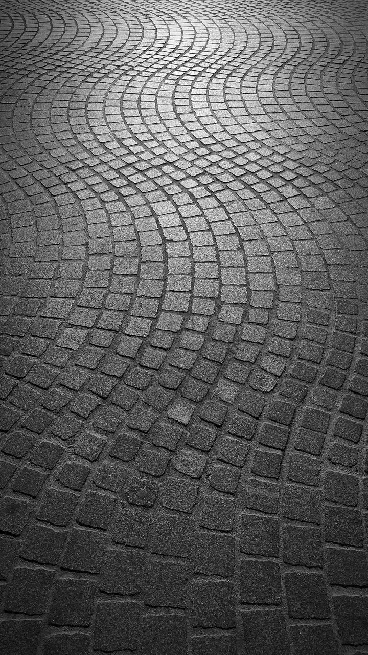 full frame, cobblestone, backgrounds, pattern, no people, day, outdoors, textured