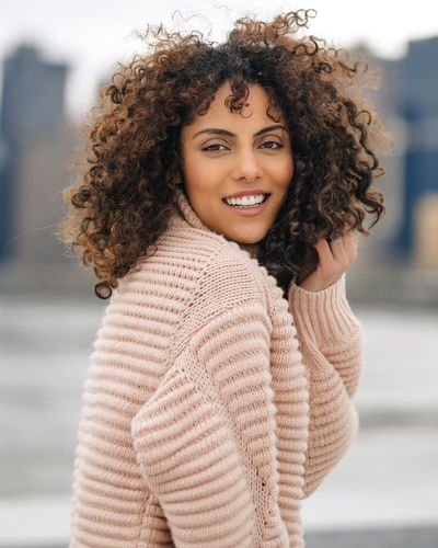 - Smile often. Give thanks. Dream big. Portrait Photography EyeEm Best Shots Travcimages EyeEm Gallery Popular Photos Nycphotographer Eye4photography  eyeemphoto Happy People Happy Portrait Of A Woman Curly Hair Women Young Adult Portrait One Person Young Women Hairstyle Smiling Lifestyles Beauty