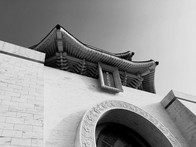 Taiwan Taiwan Architecture Built Structure Low Angle View Building Exterior Outdoors Day No People Sky Clear Sky