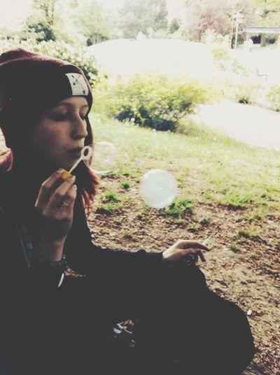 Rauchblase ?