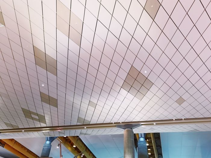 AirPort ceiling Design Architecture Ceiling Airport Architecture Ceiling Indoors  Modern Built Structure Low Angle View Colour Your Horizn