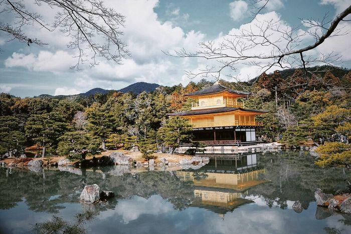 Golden Pavillon Kyoto Kyoto, Japan Japan Japanese Temple