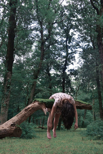 EyeEm Best Shots The Week On Eyem The Week on EyeEm Casual Clothing Day Females Forest Full Length Grass Green Color Growth Hairstyle Land Leisure Activity Lifestyles Nature Outdoors People Plant Real People Tree Tree Trunk Trunk Women WoodLand A New Perspective On Life My Best Photo