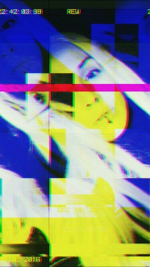 Eye 2 Digitally Generated Abstract Blond Girl Trippycolours Colorful Psychedelic Databending Glitch Art Trippyart Glitchart Digitalart  Databend Glitch Surreal Digital Art Surrealart Psychedelicart Psychedelic_colors Trip Trippy Trippy Art Pop Art Aberration Cyberpunk Cyberpunk Art
