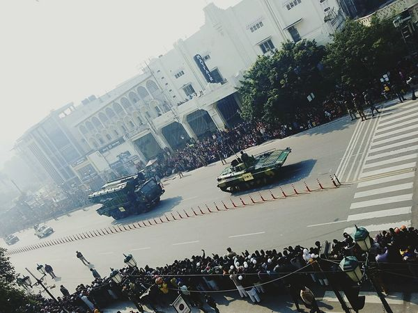 26th JanuaryNo Edit/no Filter Indianrepublicdaywatching Indianrepublicdayparade Parade Eyeemindia Mobilephotography PhonePhotography Street Photography EyeEm Best Shots 100thpost