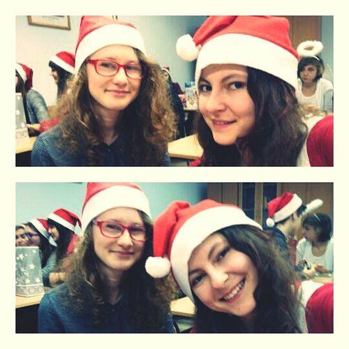Selfie✌ Selfie Selfportrait Selfie Portrait Santa Claus Santa Clause Santaclause Friends Friends ❤ School Life