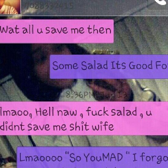 lmaoo. So He mad. !