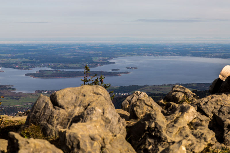 Birds View From Above  Lake Mountain Finding New Frontiers Perspectives On Nature Chiemsee Chiemgauer Alpen Chiemgau